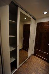 Innenansicht Einbauschrank Doppelzimmer
